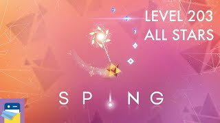 SP!NG: Level 203 All Stars Walkthrough & iOS Apple Arcade Gameplay (by SMG Studio)
