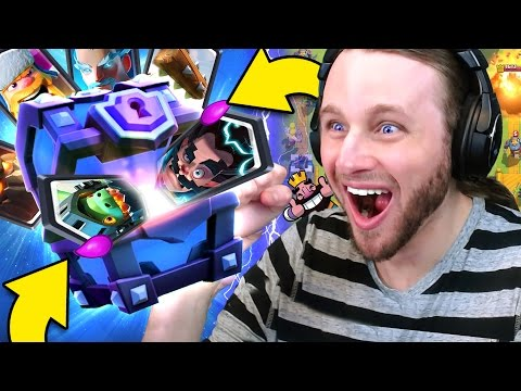 Thumbnail: Clash Royale: 12 SUPER MAGICAL CHESTS | ALL LEGENDARIES?!