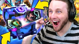Clash Royale: 12 SUPER MAGICAL CHESTS | ALL LEGENDARIES?! thumbnail