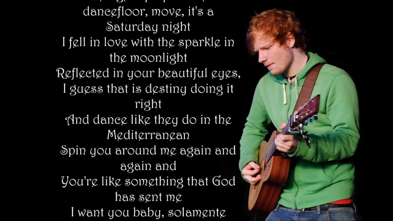 Download Ed Sheeran   Barcelona Lyrics