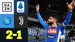 Insigne ganz groß! CR7 Treffer reicht nicht: Napoli - Juventus 2:1 | Serie A | DAZN Highlights