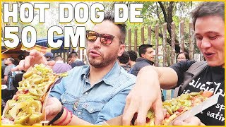 INCREÍBLES Hot Dogs GIGANTES ft Mark Wiens