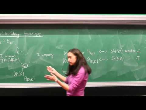 Olivia Caramello - 4/4 ntroduction to categorical logic, classifying toposes...