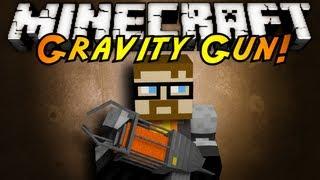 Minecraft Mod Showcase : GRAVITY GUN!