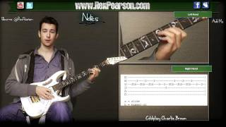 ★Guitar Lesson Coldplay Charlie Brown Chords + Lead! No Need For Tab ★