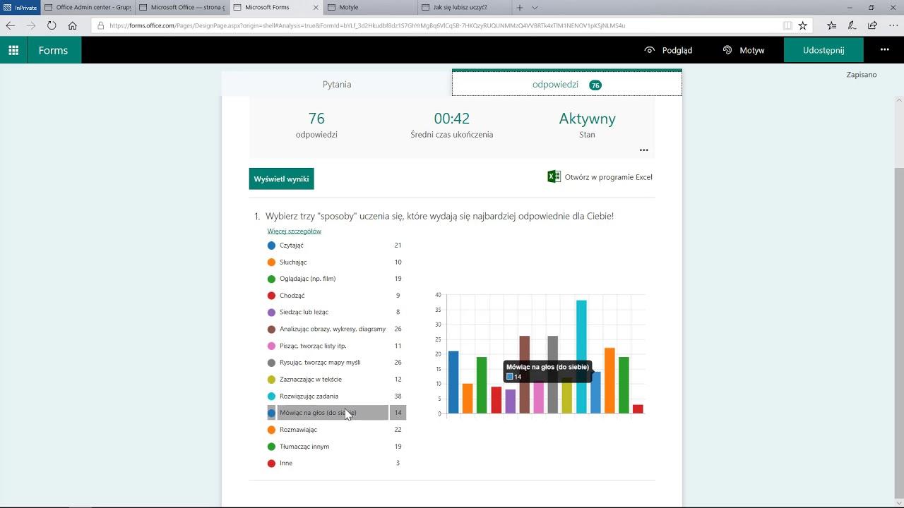Office 365: Forms - ankiety i testy - Część 1: Wprowadzenie - YouTube