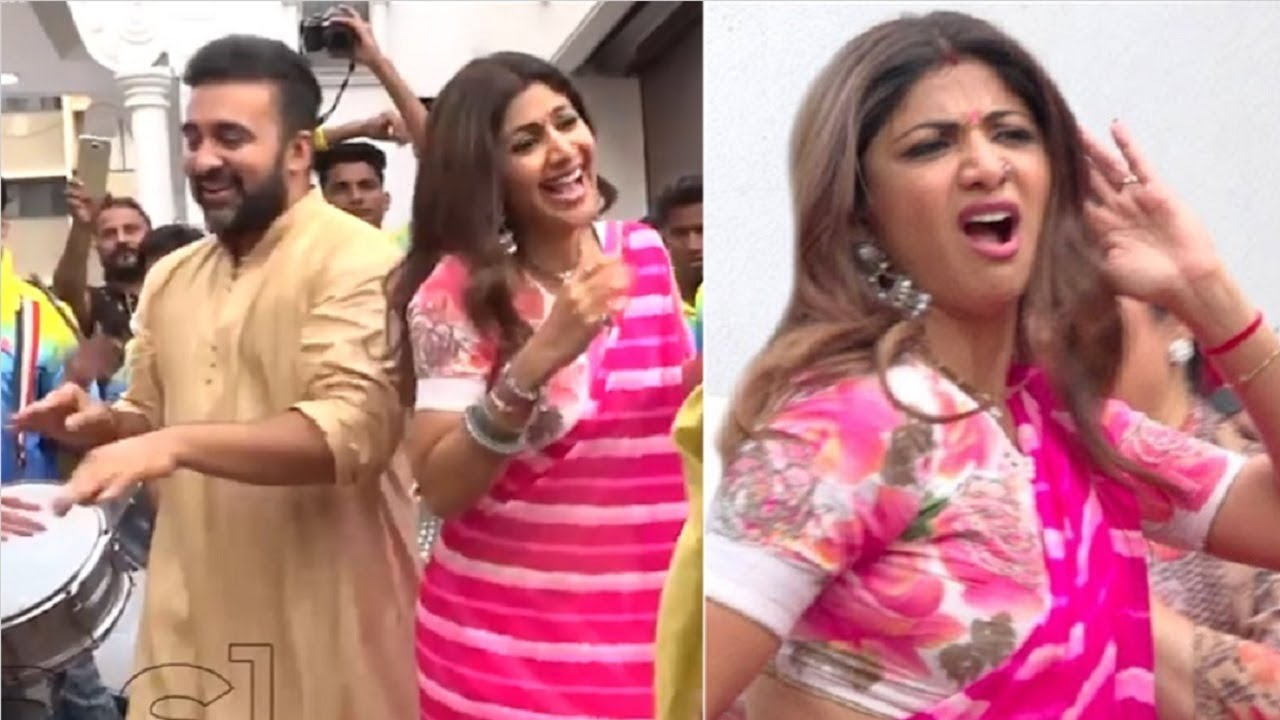 Shilpa Shetty's CRAZY Dance With Husband Raj Kundra At Their Family Wedding  Sangeet