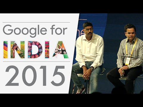 Panel: Success on Play (Google for India Developer Track 2015)