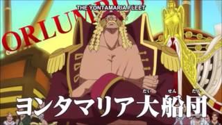 [ One Piece ] Luffy's Grand Fleet Captains |Episode 744|
