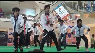 36 citi mall bilaspur c.g freestyle gruop dance