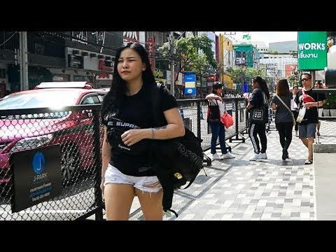 Walking in Bangkok Siam 2018