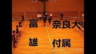 ハンドボール男子2年次 富雄vs奈良大