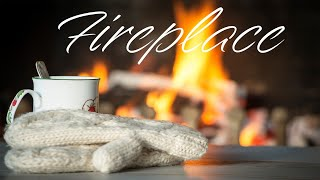 Christmas Fireplace Music - Relaxing Jazz For Winter Christmas Mood
