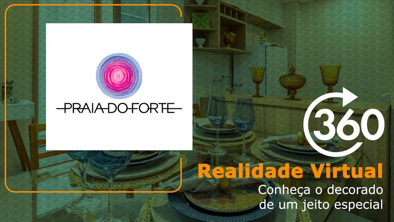 MRV Decora: Vila do Mar - Praia do Forte - Gire seu celular ou use o mouse para ver 360º