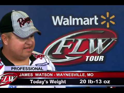 Walmart FLW Tour: Lake Okeechobee, Day one weigh-in