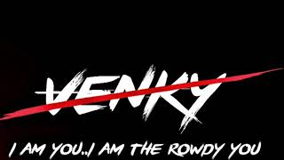 Download How To Edit Rowdy Style Font With Your Name Venky Creations