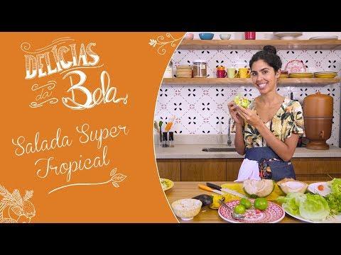 Salada SUPER TROPICAL de MANGA, COCO e ABACATE - Delícias da Bela Especial de VERÃO | Bela Gil