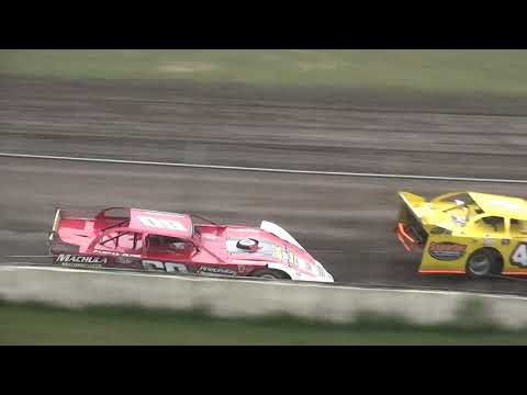 IMCA Late Model Heat Benton County Speedway 7/28/19
