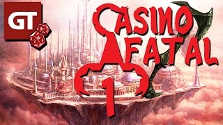 Thumbnail für GameTube Pen & Paper: Casino Fatal - Dungeons & Dragons #1 - Ein ungleiches Quartett