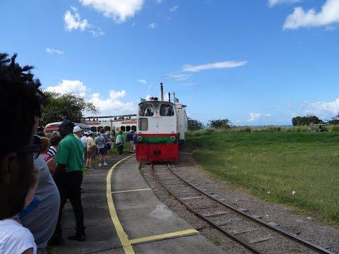 St Kitts Scenic Railway Tour - Basseterre St Kitts Scenic Train Ride