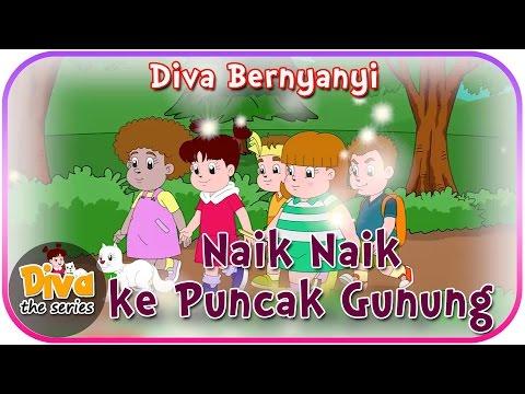 Naik Naik Ke Puncak Gunung | Diva Bernyanyi | Diva The Series Official
