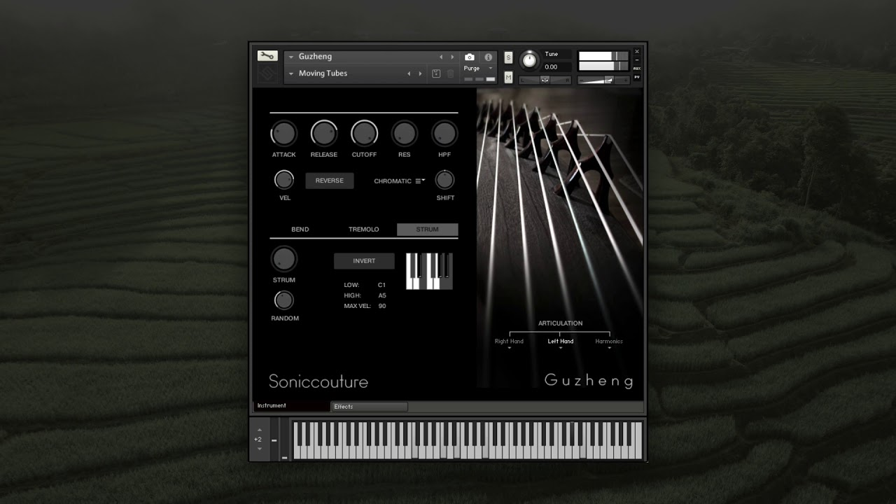 GuZheng | Virtual Instrument for Kontakt NKS | Soniccouture