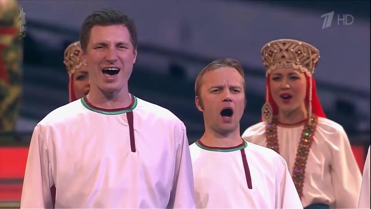 """Russische Volksmusik: """"Mütterchen Russland"""" - Pjatnitzki Chor"""