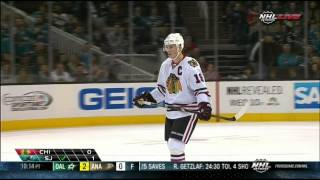 Full Shootout Chicago Blackhawks vs San Jose Sharks  2/1/14 NHL Hockey.