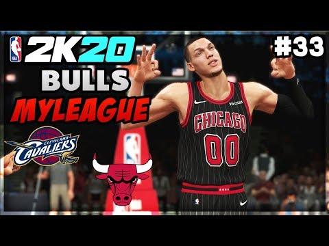 Aaron Gordon SLAMS all OVER Cleveland for 40+ Pts! NBA 2K20 Chicago Bulls MyLeague 33