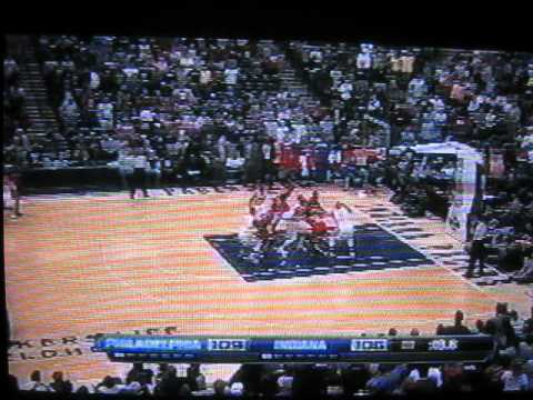 "NBA Coach DOUG COLLINS yells""F-ING lucky asshole"" at ref NEW APRIL 21 2012"