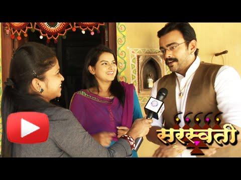 Meet New Onscreen Couple | Aastad Kale & Titiksha Tawde | Saraswati Serial | Colors Marathi