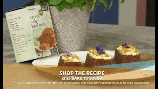 Woolworths Carrot cake loaf with cream cheese frosting  Afternoon Express  21 August 2019