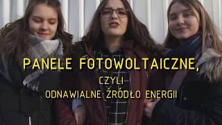 PANELE FOTOWOLTAICZNE, czyli odnawialne źródło energii