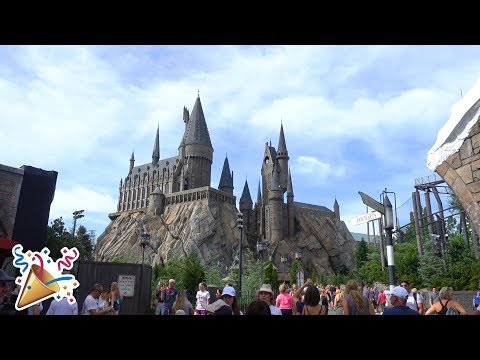 UN PARC HARRY POTTER!! | 5 septembre 2017
