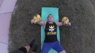 Упражнения с гирями для грудных мышц. Гиревой фитнес.