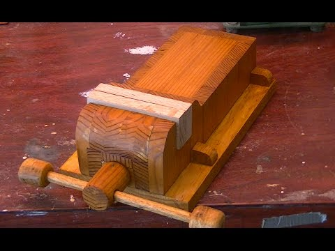 Home Made Wooden Vise - Woodworking - Part one - YouTube