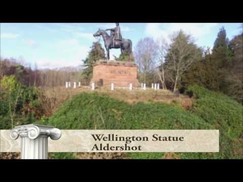 Wellington statue, Aldershot - UK