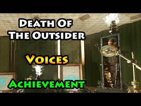 Death of the Outsider - Voices - Achievement / Trophy