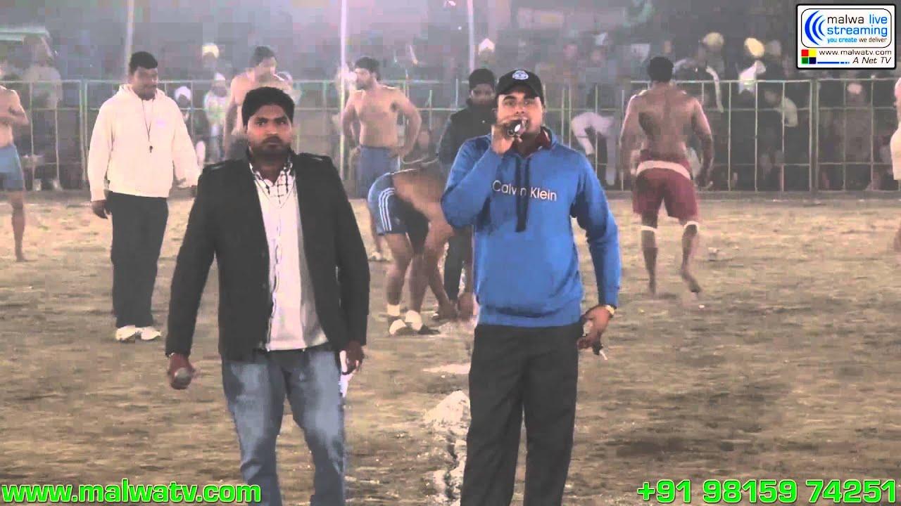 BOTIANWALA (Zira) Kabaddi Cup - 2014 Part 2nd.