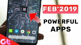 TOP 10 NEW & POWERFUL Android Apps for FEB 2019 | GT Hindi