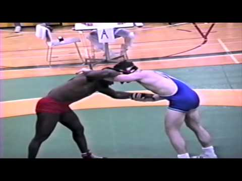 1989 Senior National Championships: 82 kg Rick Henry vs. Scott Bianco