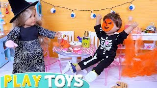 AG Baby Dolls Halloween Costume Dress up and Face Painting Masks!