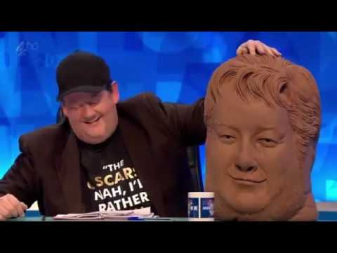 8 out of 10 cats does countdown   Johnny Vegas bust