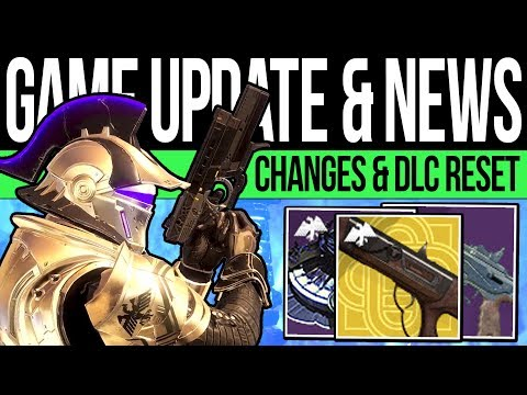 Destiny 2 | NEW GAME UPDATE! Missing LOOT! Patch 2.7.1, Weekly Reset, Rewards & Vendors (28th Jan)