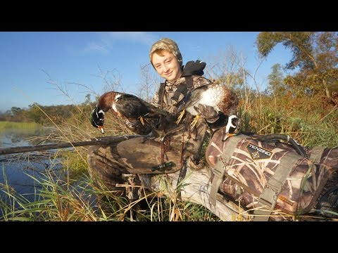 Youth Duck Hunting 2015 Wood Ducks