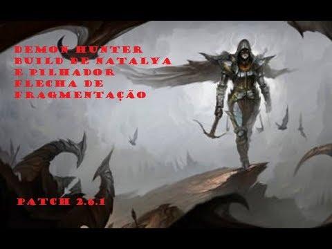 Diablo 3 - Demon Hunter Natalya + Pilhador patch 2.6.1