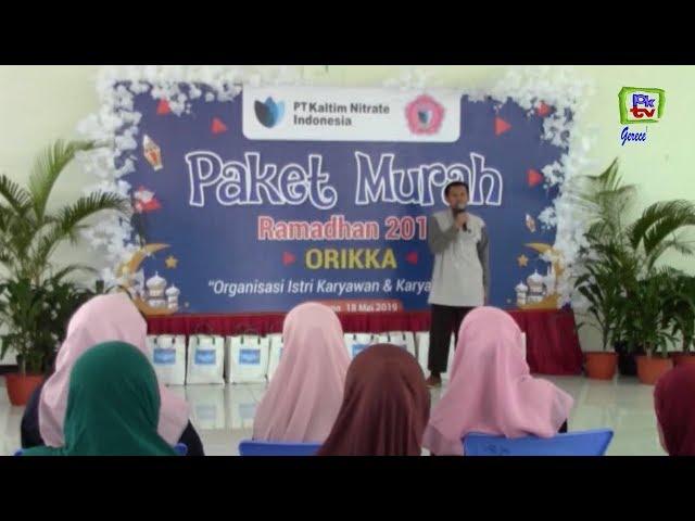 PT KNI BERSAMA ORIKA BAGIKAN 225 PAKET SEMBAKO MURAH