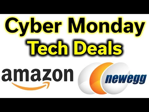 Cyber Monday - Tech Deals Today @ Amazon & NewEgg