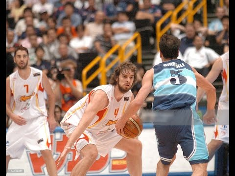 Spain vs Argentina 2006 FIBA World Championship Semi-Finals Basketball FULL GAME English