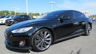 2012/2013 Tesla Model S 85kWh Performance Start Up, Drive, and In Depth Review